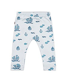 Baby Boys Sailboats Lounge Trouser