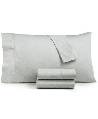 CLOSEOUT! Etched Block Queen Sheet Set, Created for Macy's