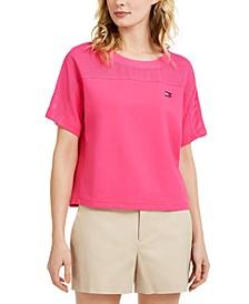 Mesh-Yoke T-Shirt