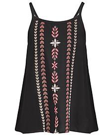 Big Girls Pattern Challis Tank Top, Created for Macy's
