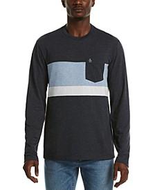 Men's Colorblocked Stripe T-Shirt
