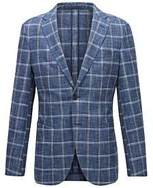 BOSS Men's T-Noam Dark Blue Jacket