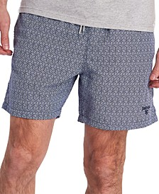 Men's Geo-Print Swim Trunks