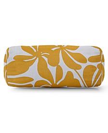 "Plantation Decorative Round Bolster Pillow 18.5"" x 8"""