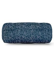 "Southwest Decorative Round Bolster Pillow 18.5"" x 8"""
