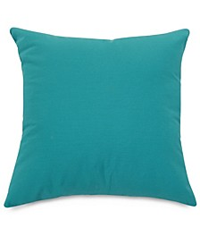 "Solid Decorative Soft Throw Pillow Large 20"" x 20"""
