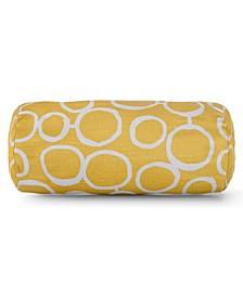 "Fusion Decorative Round Bolster Pillow 18.5"" x 8"""