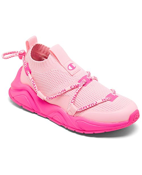 Champion Big Girls' Rally Flux Low Casual Sneakers from Finish Line
