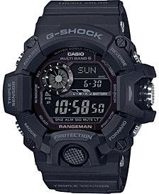 G-Shock Men's Solar Digital Rangeman Black Resin Strap Watch 53-1/2mm