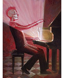 """Aaron Jasinski The Right Note Museum Mounted Canvas 33"""" x 44"""""""