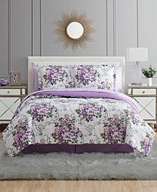Floral Bouquet Queen 8PC Comforter Set