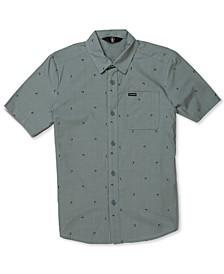 Big Boys Mark Mix Short-Sleeve Shirt