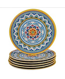 Portofino Melamine 6-Pc. Dinner Plates