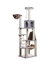 Cat Climber Play House, Cat Furniture with Playhouse, Lounge Basket