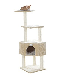 Cat Tree with Perch and Playhouse