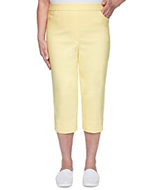 Petite Spring Lake Allure Stretch Capri Pants