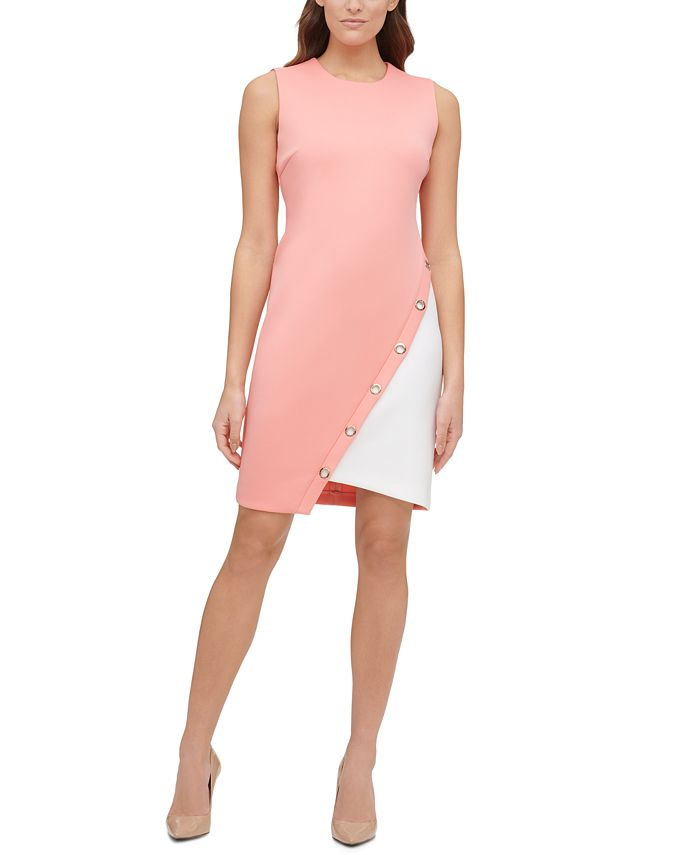 Tommy Hilfiger - Colorblocked Scuba Dress
