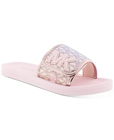 Micheal Kors Little & Big Girls Eli Seneca Casual Sandals
