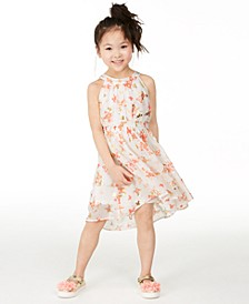 Little Girls Butterfly-Print Dress, Created for Macy's
