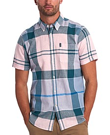 Men's Tartan Short-Sleeve Shirt