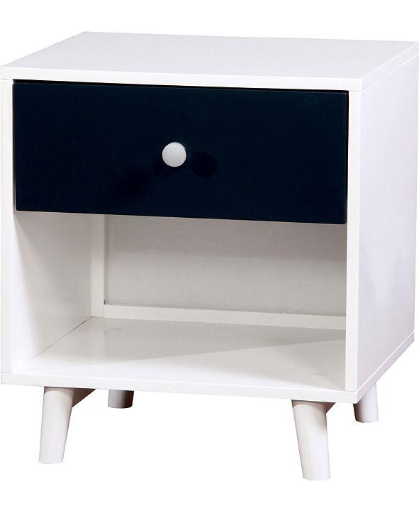 Furniture of America Jennings Modern Nightstand
