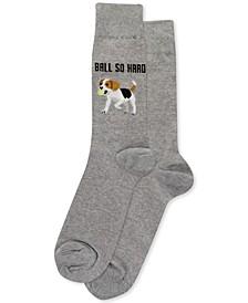 Men's Dog Crew Socks