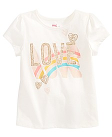 Toddler Girls Love Rainbow T-Shirt, Created for Macy's