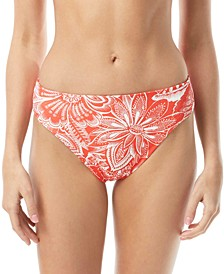 Reversible High-Leg Bikini Bottoms