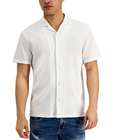 INC Men's Regular-Fit Thermal-Knit Shirt, Created for Macy's