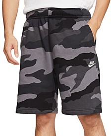 Men's Club Fleece Camo Shorts