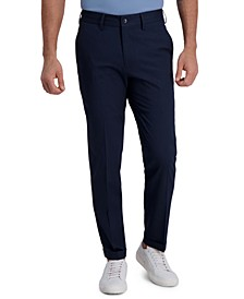 Men's Slim-Fit Stretch Heather Stripe Dress Pants