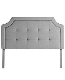 Upholstered Headboard with Square Tufting, King