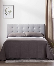 Square Tufted Mid Rise Headboard, King