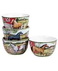 Clover Farm 4-Pc. Ice Cream Bowls asst.