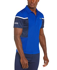 Men's Sport Regular-Fit Colorblocked Polo Shirt