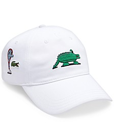 Men's Croco Series Large Logo Cartoon 'Jeremyville' Baseball Cap