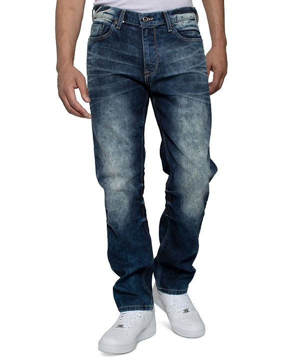 Sean John Men's Palace Wash Athlete Jeans