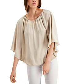 Bubble-Hem Blouse, Created for Macy's