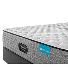 "Beautyrest Harmony Lux Carbon 13.75"" Plush Mattress Set - Queen"