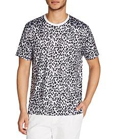 Men's Leopard-Print T-Shirt