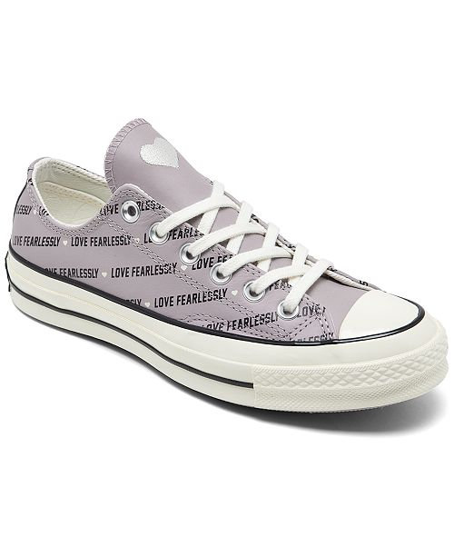 Converse Women's Chuck Taylor 70 Love Fearlessly Low Top Casual Sneakers from Finish Line