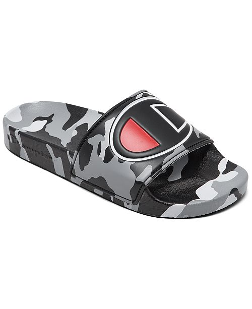 Champion Big Boys IPO Camo Slide Sandals from Finish Line