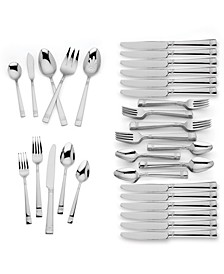 Larchwood 65pc Flatware Set, Service for 12