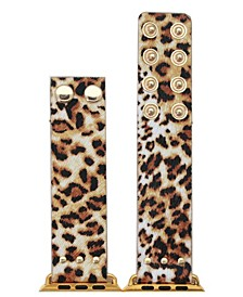 Animal Fabric Snap Button Apple Watch Band