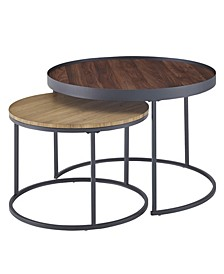 "30"" Nesting Coffee Tables, Set of 2"