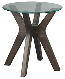 Zannory Contemporary Round End Table