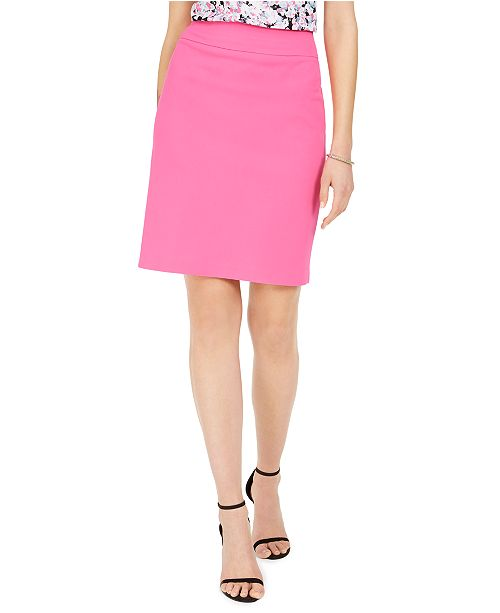Nine West Crepe Pencil Skirt