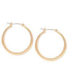 Kenneth Cole New York Earrings, Gold-Tone Hoop Earrings