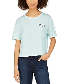 Juniors' Wildlife Cotton Graphic T-Shirt