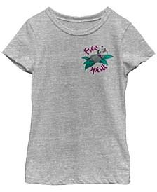 Big Girls Disney Princesses Meeko Free Spirit Short Sleeve T-shirt